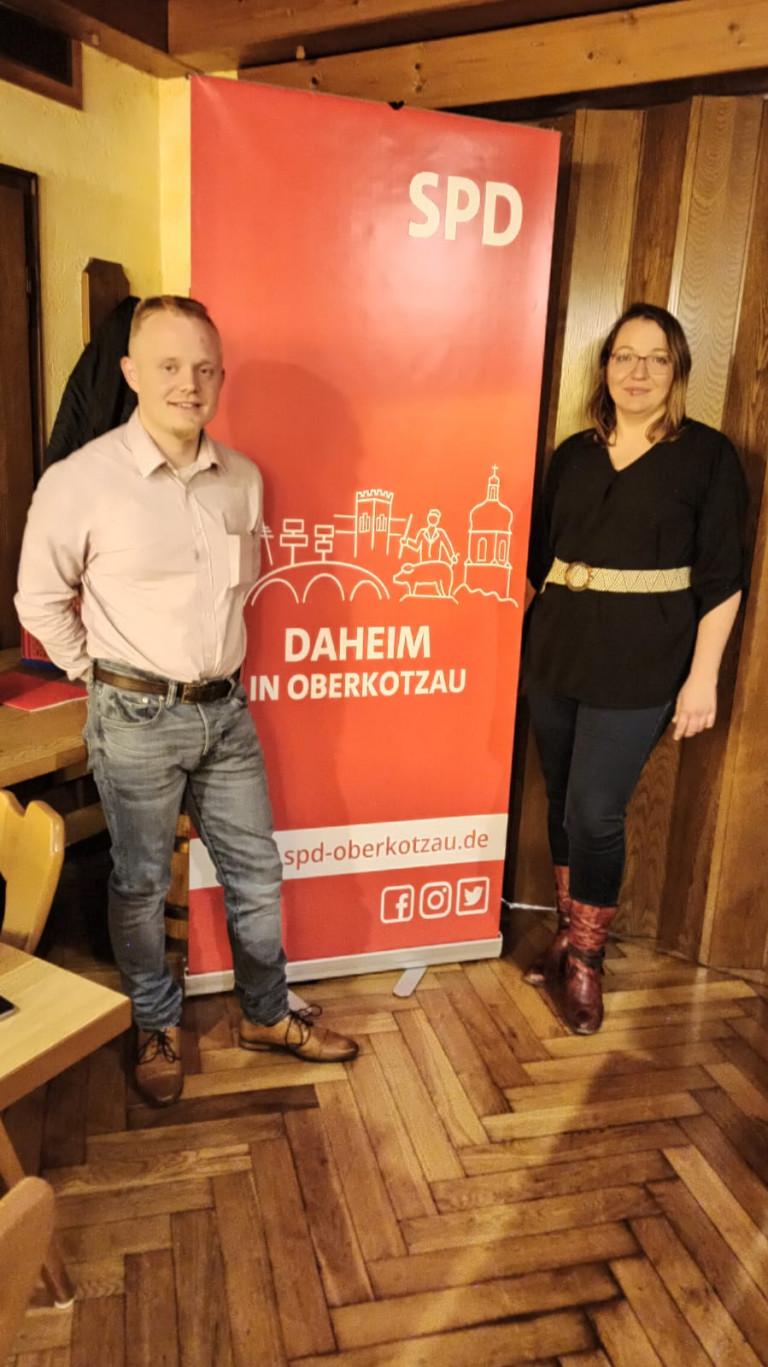 Alicja Grießhammer und Domenik Kügler